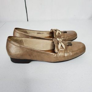 Life Stride Shoes - Life Stride Essence Tassel Faux Leather Flats 7.5
